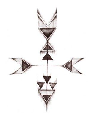 arrow tattoo design