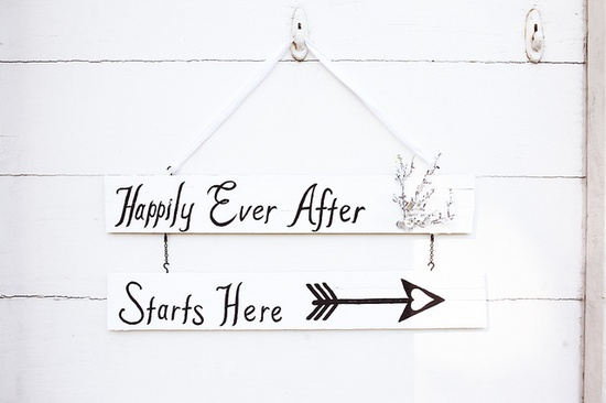 Happily ever after starts here ?