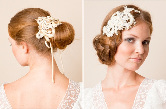 wedding hair accessories.