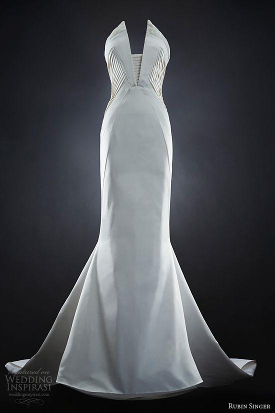 rubin singer 2014 bridal naomi wedding dress neckline