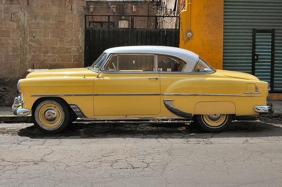 beautiful antique car