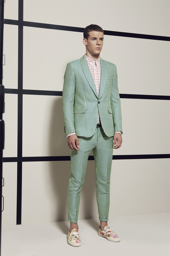 all-over print tailored. MSGM - Men Fashion Spring Summer 2013 - Shows - Vogue.it
