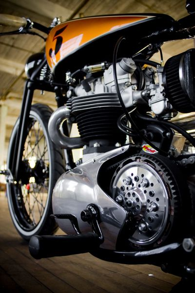 Slick cafe racer.