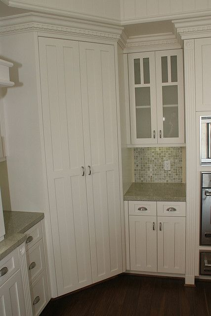 Corner Pantry by rubottomcabinets, via Flickr