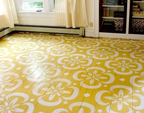 Painted flooring