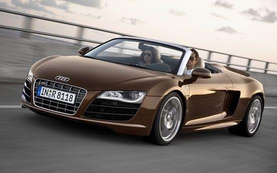Audi spider #celebritys sport cars #ferrari vs lamborghini