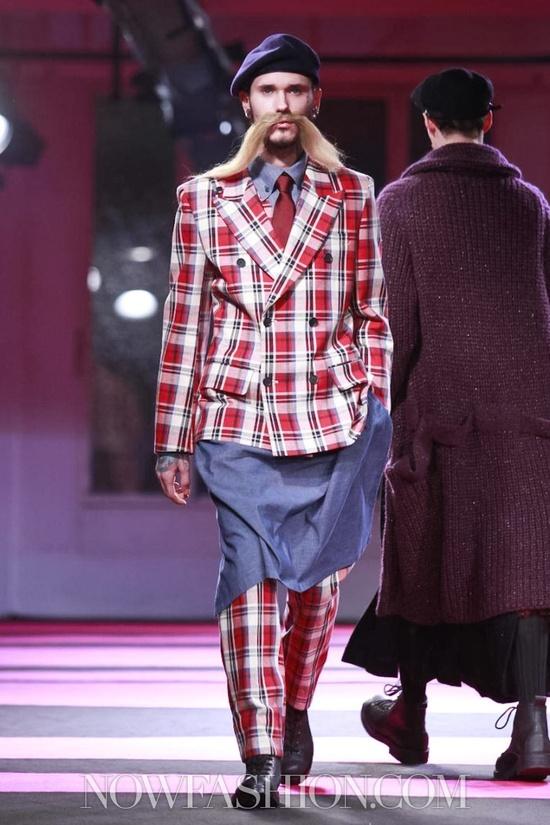 Yohji Yamamoto Menswear Fall Winter 2013 Paris