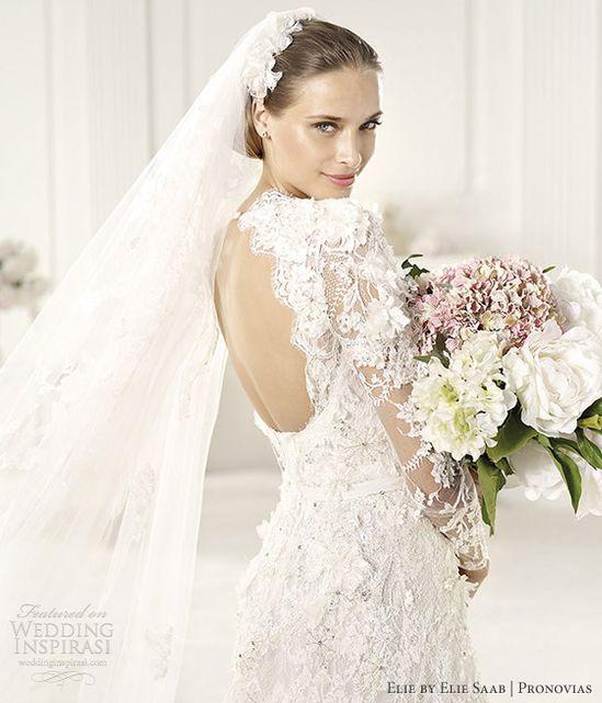 elie by elie saab wedding dresses pronovias 2013