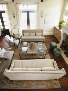 urban grace interiors - love the coffee table and drapes