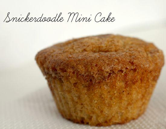 Snickerdoodle Mini Cake Recipe