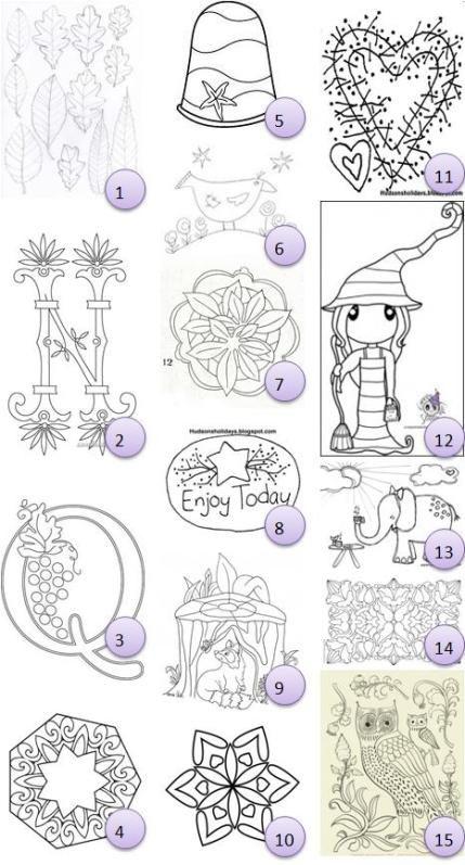 Free hand-embroidery patterns · Needlework News