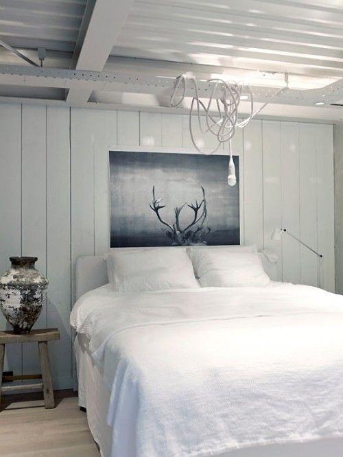 #interior #decor #styling #bedroom #rustic #white