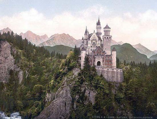 Neuschwanstein, Upper Bavaria, Germany