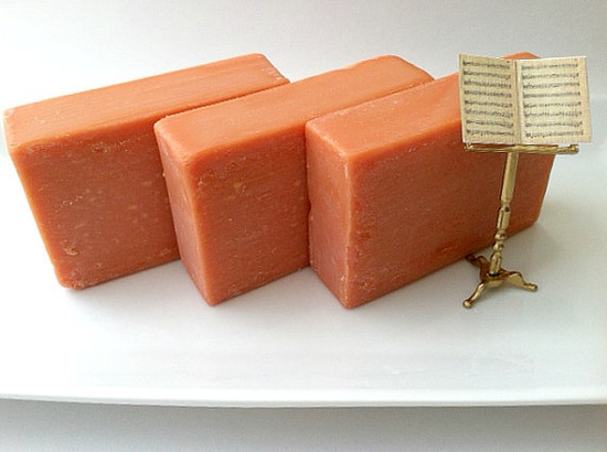 FRESH MANGO Soap  Cold Process Soap made with by SoapsByAlexandra, $5.50