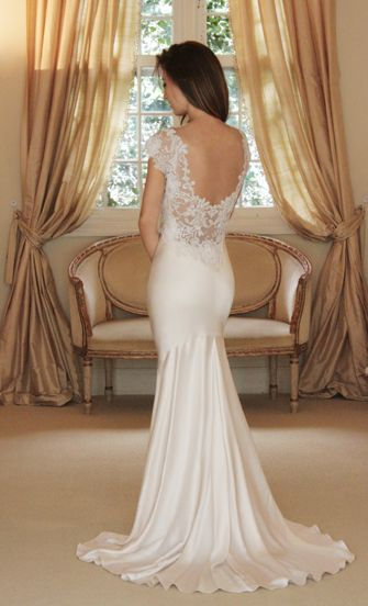 Perfect fit and just the right mix of lace and satin!