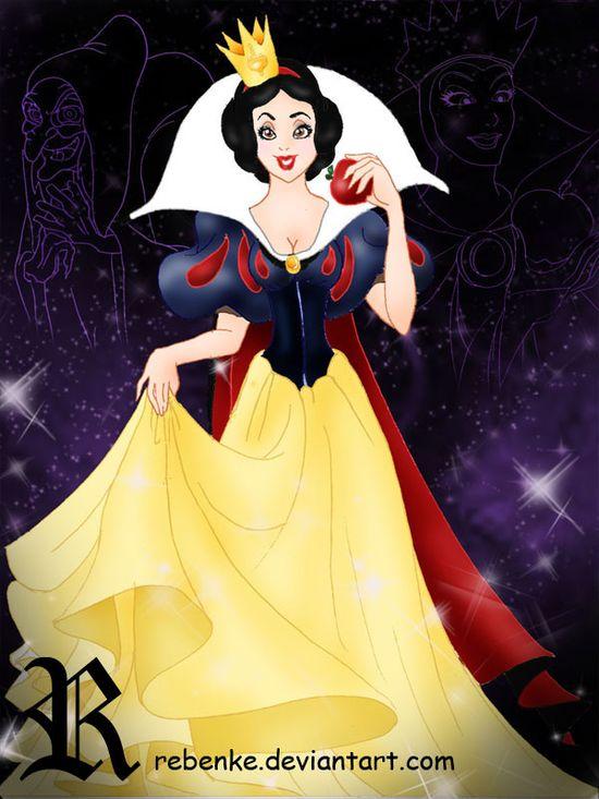 The Queen of disney by rebenke.deviantar...