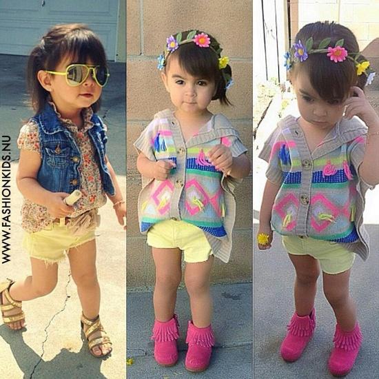 My baby girls style