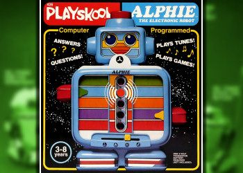 Electronic Toy Robots of the 1980s - Playskool Alphie