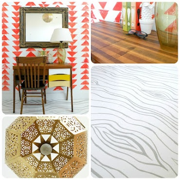 tons of DIY and home decor on a budget. love Mandi Gubler