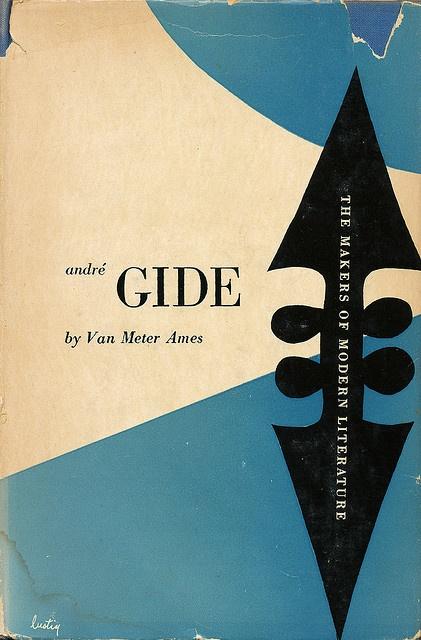 Andre Gide cover by Alvin Lustig by Scott Lindberg, via Flickr