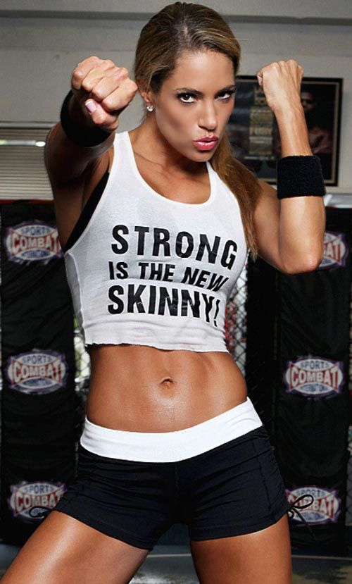 be strong and healthy not just skinny.
