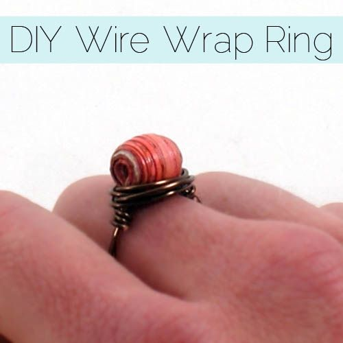 Easy Wire Wrap Ring Tutorial