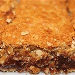 Chocolate Oatmeal Bars - Rich bars that are easy to make and a hit with everyone..