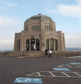 Crown Point Vista House along the Historic Columbia River Highway - Travel Oregon