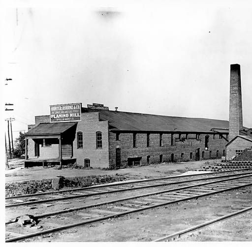 Hunter, Rourke, and Co. planing mill :: Champaign-Urbana Historic Built Environment