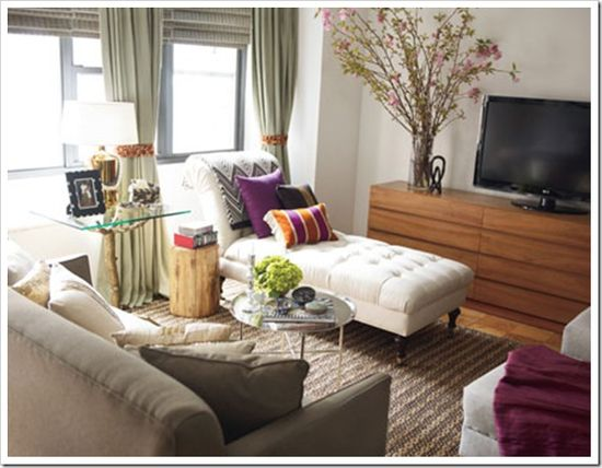 Glamourous apartment designed by Nate Berkus.
