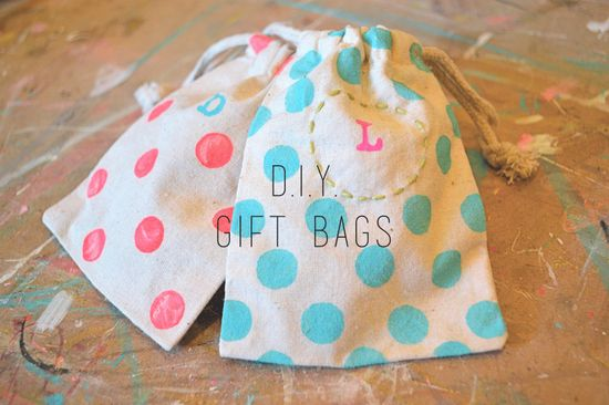 Do It Yourself Gift Bags - The Happy Goose Blog