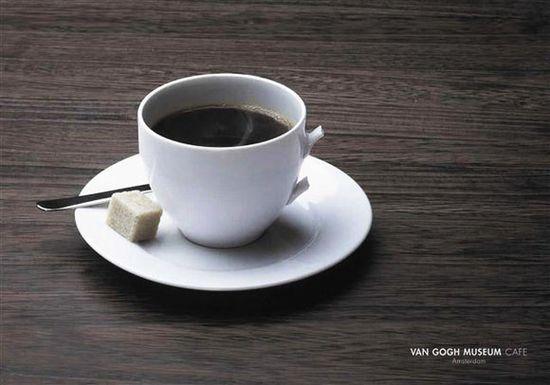 Van Gogh Museum Cafe Advertising