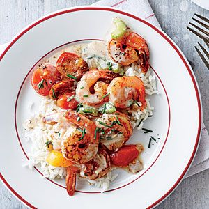 Creole Shrimp and Rice | CookingLight.com