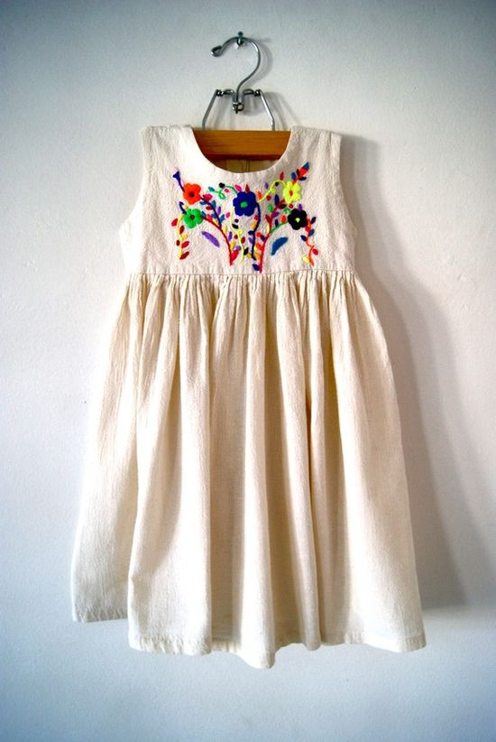 When I have a little girl... #baby #dress #bohemian #girl