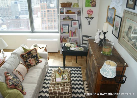 Decorating small spaces BEAUTIFULLY!!!