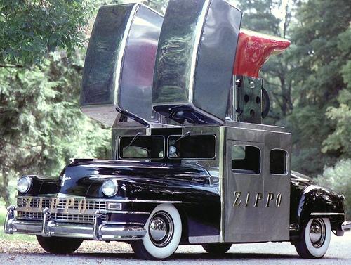 1947 Chrysler Saratoga Zippo Lighter Car.