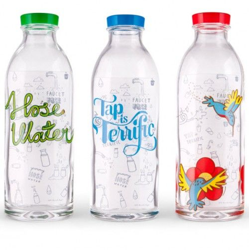 Three Glass Bottles