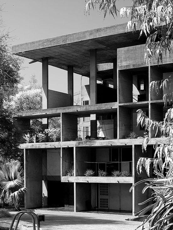 Villa Shodhan (1951) in Ahmedabad, India, by Le Corbusier