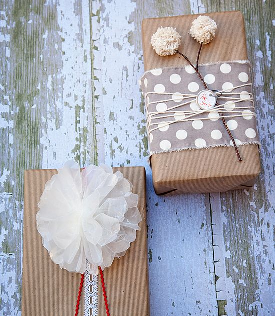 5 Simply Stunning DIY Gift Wrap Ideas
