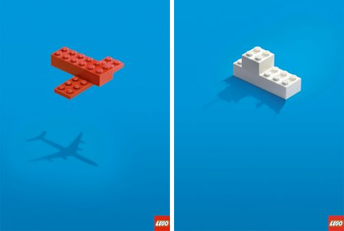 Lego Adverts.  So simple and so creative.