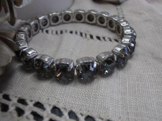 Swarovski Black Diamond crystal 8mm by ParisiJewelryDesigns, $27.00