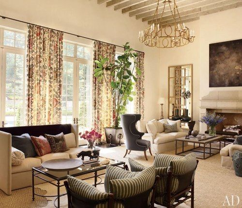 Suzanne Kasler and William T. Baker in Atlanta. Architectural Digest.