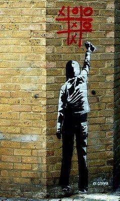 Pictures of the Greatest Street Graffiti Artist of All Time (Robert Banksy)