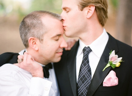 Two grooms on their wedding day by Jen Lynne Photography