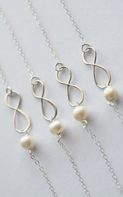 Bridesmaid Bracelets. Lovely!