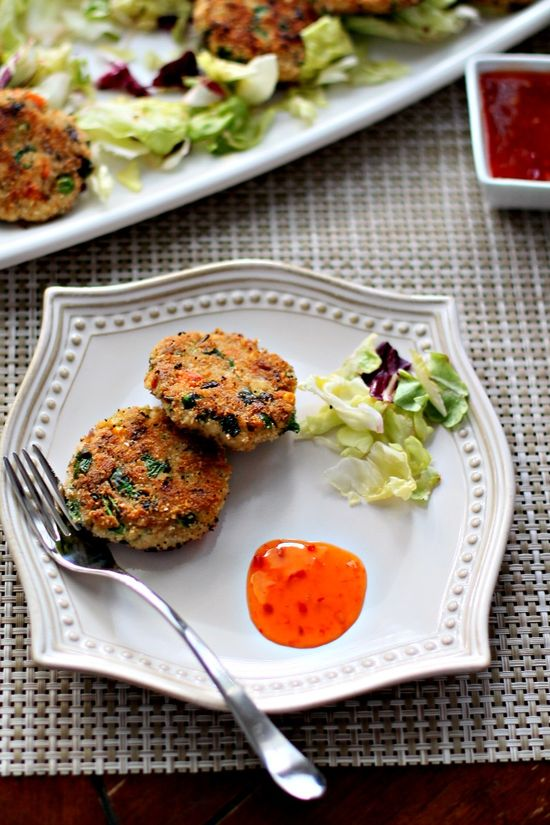 Indian tofu vegetable patties