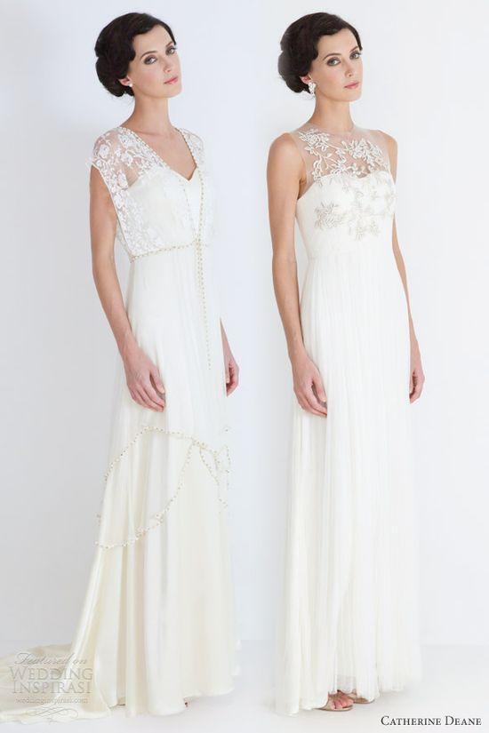 catherine deane bridal 2012 lita leticia wedding dresses illusion necklines
