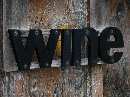 *Wine