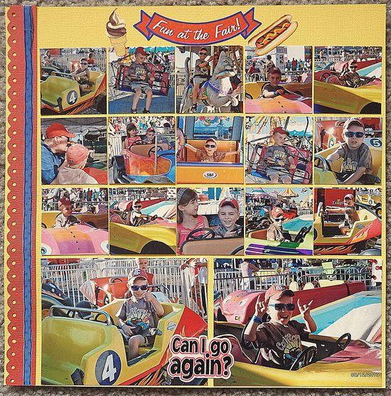 Fun at the Fair - Scrapbook.com  Love all the pics!