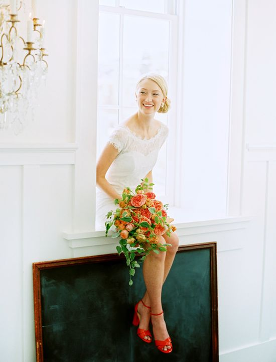 Language of Flowers Inspiration Shoot - lovely bouquet!
